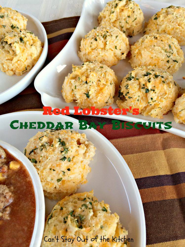 Red Lobster's Cheddar Bay Biscuits | Can't Stay Out of the Kitchen