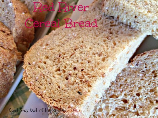 Red River Cereal Bread - IMG_1284