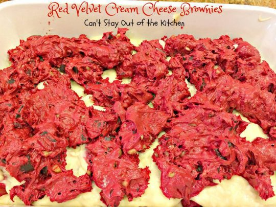 Red Velvet Cream Cheese Brownies - IMG_5029.jpg