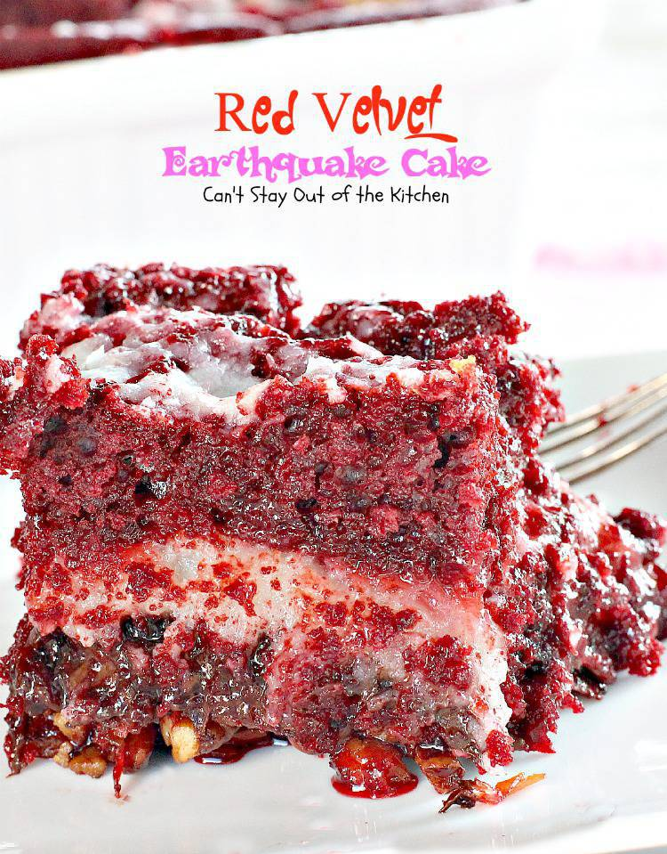 Red velvet cake recipe with butter cake mix