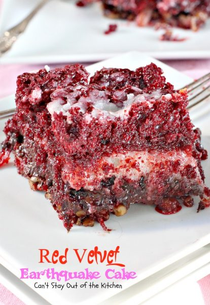 Red Velvet Earthquake Cake - IMG_4394