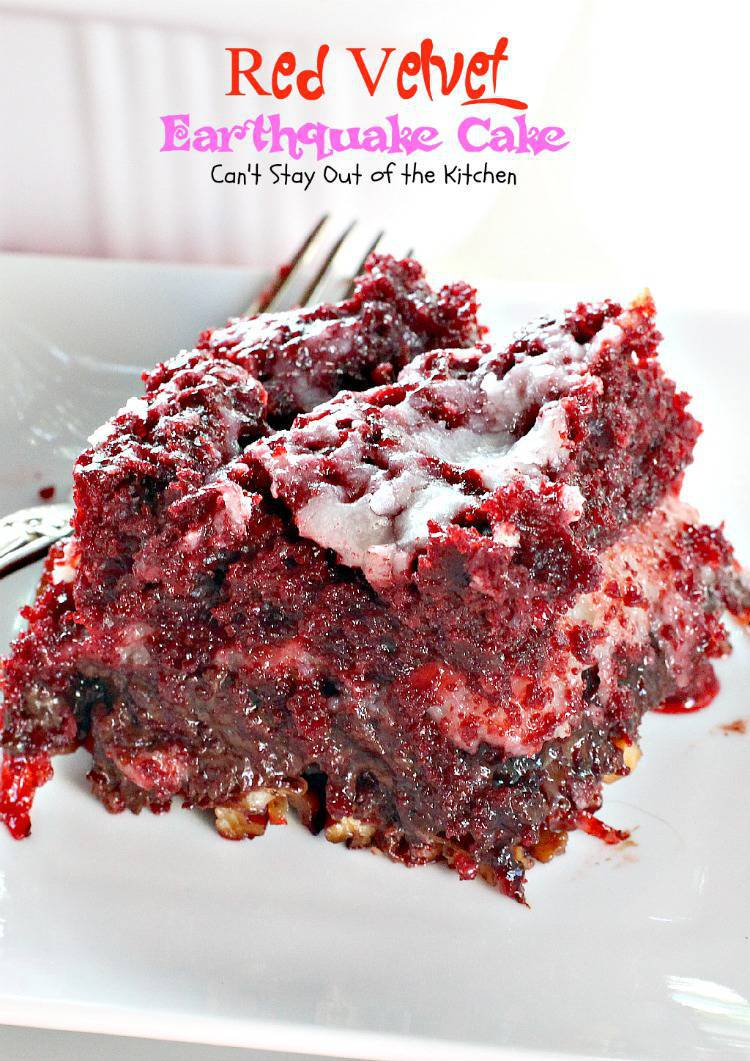 Red velvet cake mix recipe