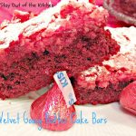 Red Velvet Gooey Butter Cake Bars - Recipe Pix 25 301