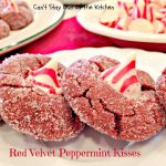 Red Velvet Peppermint Kisses - Recipe Pix 25 380