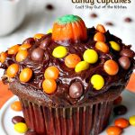 Reese's Candy Cupcakes   Can't Stay Out of the Kitchen