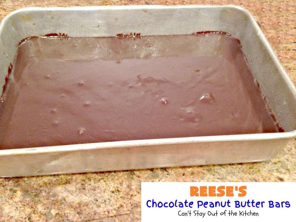 Oatmeal Peanut Butter Crust Chocolate Bars Dessert S S
