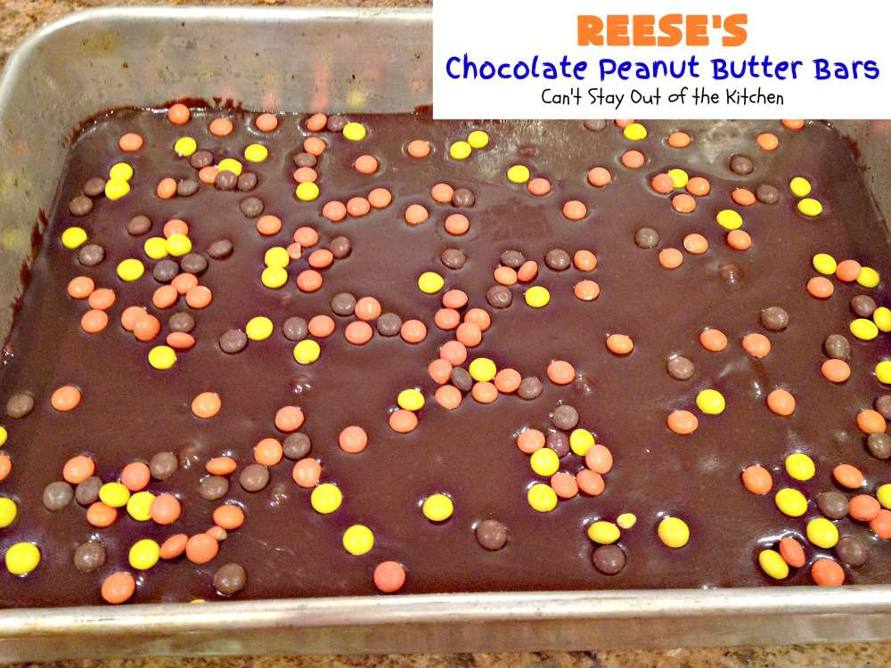 Reeses Chocolate Peanut Butter Bars Reese's Chocolate Peanut