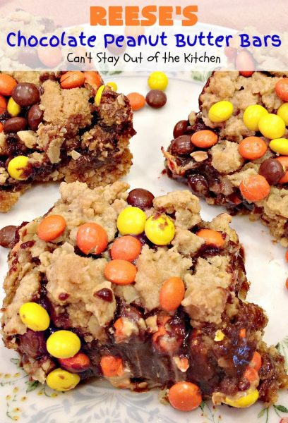 Reese's Chocolate Peanut Butter Bars - Recipe Pix 12 070