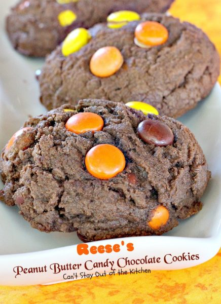 Reese's Peanut Butter Candy Chocolate Cookies - IMG_7831