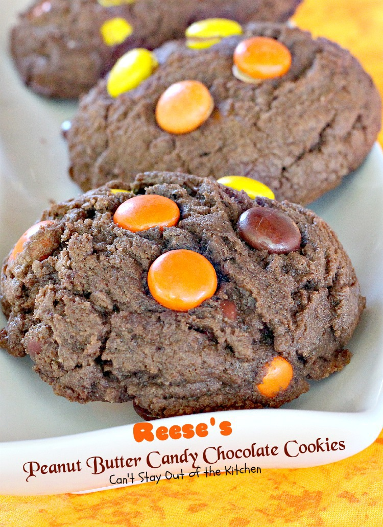 Reese's Peanut Butter Cup Surprise Brownies - Can't Stay Out of the ...