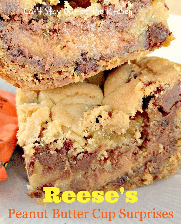 Peanut Butter Cup Surprise Cookies Reese's peanut butter cup