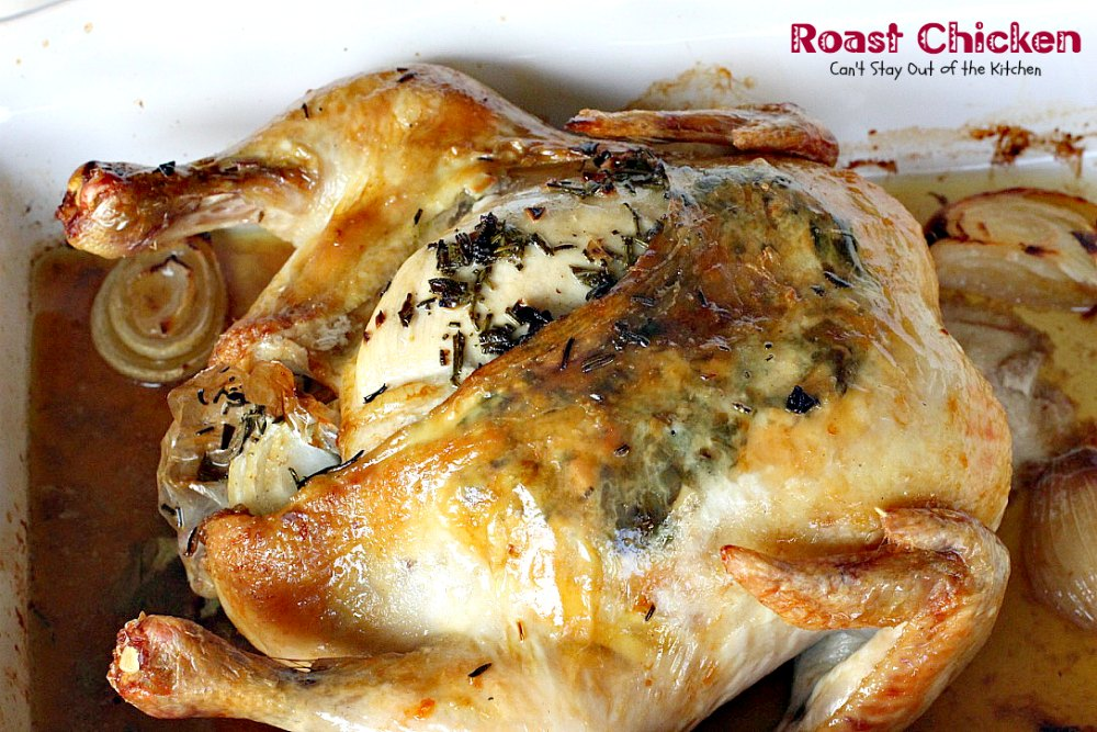 how to tell if a roast chicken is done