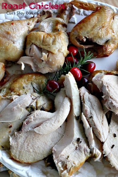 Roast Chicken | Can't Stay Out of the Kitchen | quick, easy & delicious way to make a homemade #rotisserie #chicken. #glutenfree