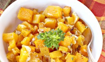 Roasted Butternut Squash Bake