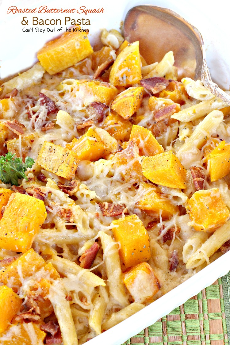 Roasted Butternut Squash & Balsamic Sauce For Pasta Recipe ...