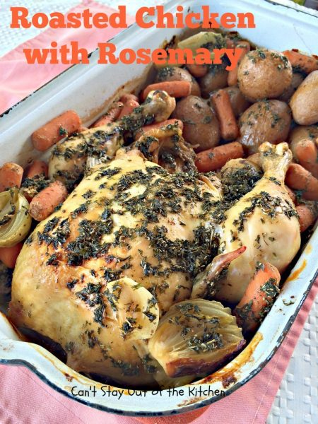 Pan Roasted Herbed Chicken Can T Stay Out Of The Kitchen