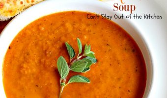 Roasted Italian Tomato Soup