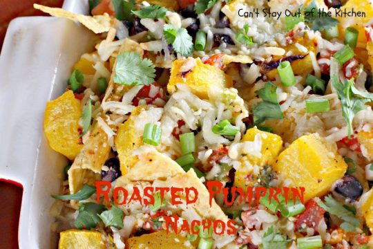 Roasted Pumpkin Nachos - IMG_3144