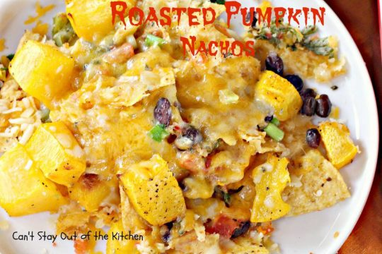 Roasted Pumpkin Nachos - IMG_3168