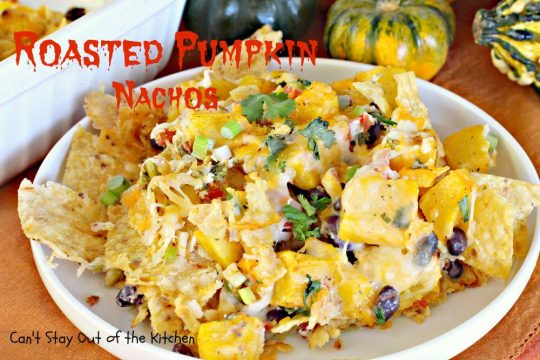 Roasted Pumpkin Nachos - IMG_3375