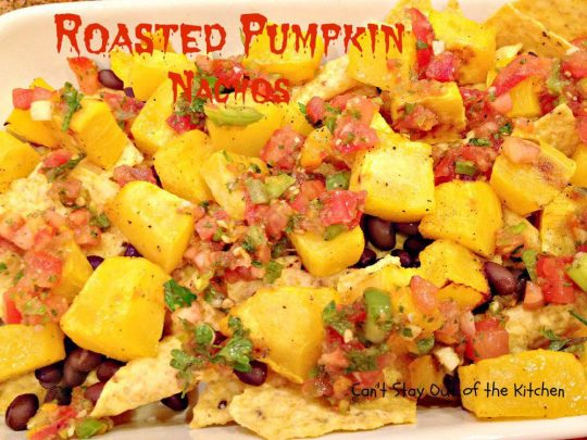 Roasted Pumpkin Nachos - IMG_7937
