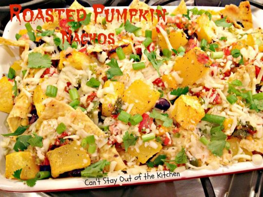 Roasted Pumpkin Nachos - IMG_7948