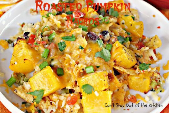 Roasted Pumpkin NachosIMG_3183