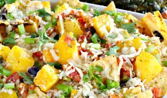 Roasted Pumpkin or Butternut Squash Nachos