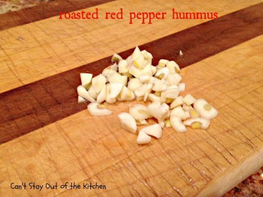 Roasted Red Pepper Hummus - IMG_6435