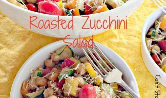 Roasted Zucchini Salad