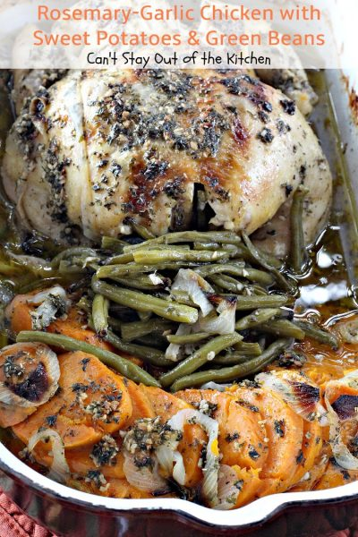 Rosemary-Garlic Chicken with Sweet Potatoes and Green Beans - IMG_1249
