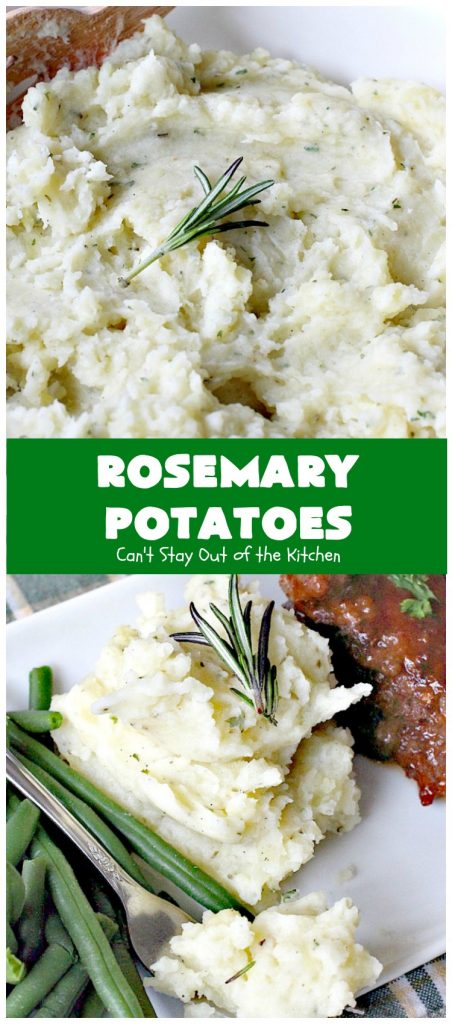 Rosemary Potatoes | Can't Stay Out of the Kitchen