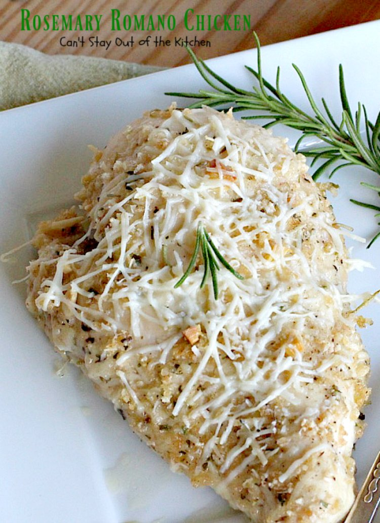 how to make rosemary chicken in the oven