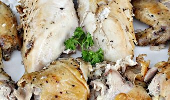 Rotisserie Style Baked Chicken