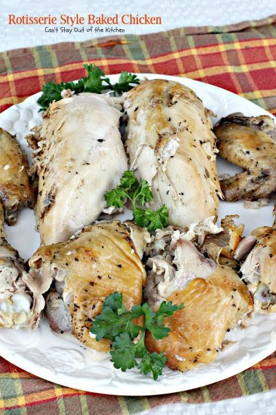 Rotisserie Style Baked Chicken - IMG_4272