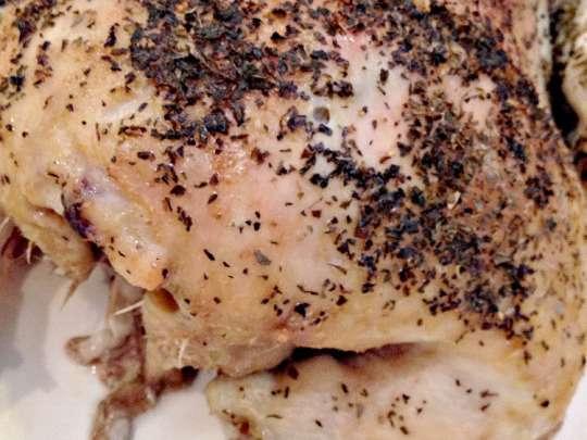 Rotisserie Style Baked Chicken - Recipe Pix 5 052