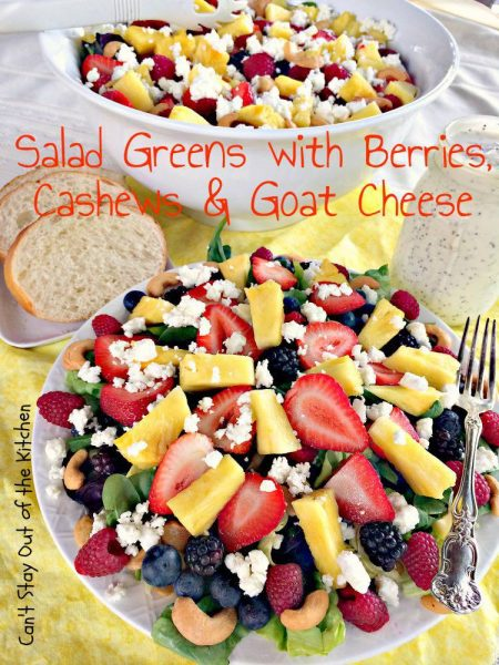 Salad Greens with Berries, Cashews and Goat Cheese - IMG_3997.jpg