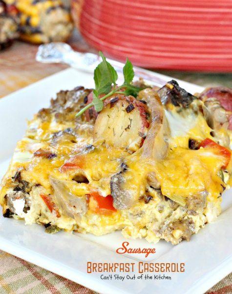 Sausage Breakfast Casserole - IMG_1436