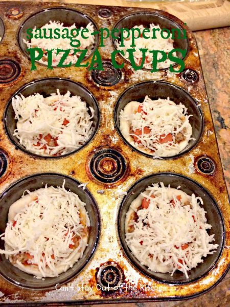 Sausage-Pepperoni Pizza Cups - IMG_5421