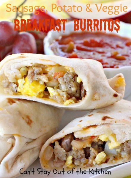 Sausage, Potato & Veggie Breakfast Burritos - IMG_3009.jpg