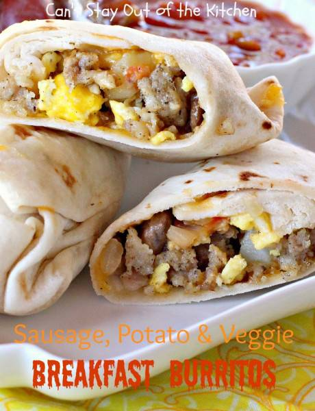 Sausage, Potato & Veggie Breakfast Burritos - IMG_3017.jpg