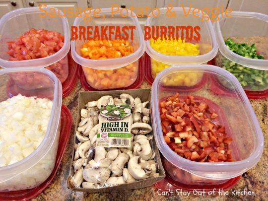 Sausage, Potato & Veggie Breakfast Burritos - IMG_7418.jpg