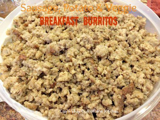 Sausage, Potato & Veggie Breakfast Burritos - IMG_7419.jpg