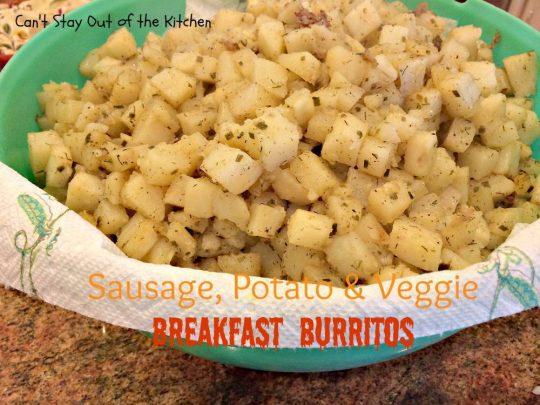 Sausage, Potato & Veggie Breakfast Burritos - IMG_7420.jpg