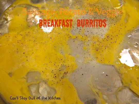 Sausage, Potato & Veggie Breakfast Burritos - IMG_7435.jpg