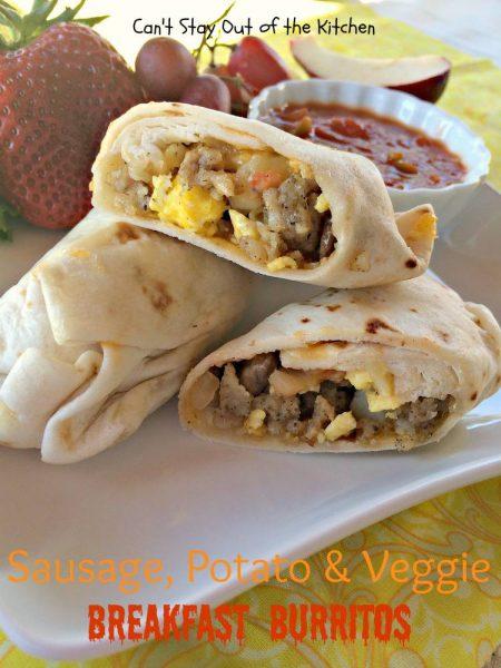 Sausage, Potato & Veggie Breakfast Burritos - IMG_7588.jpg