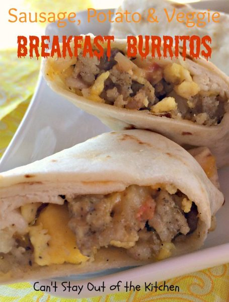 Sausage, Potato & Veggie Breakfast Burritos - IMG_7604.jpg
