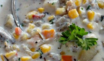 Sausage, Potato and Corn Chowder