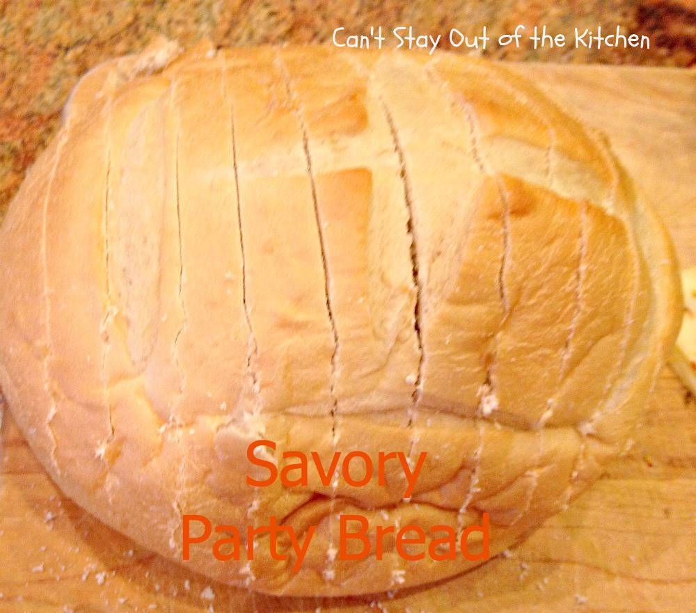Savory Party Bread Recipe