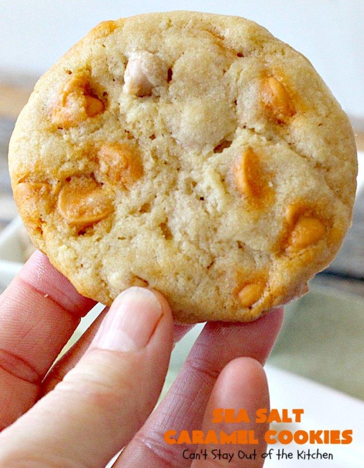 Recipe Hershey Kitchen Sea Salt Caramel Chocolate Cookies